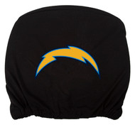Embroidered Sports Logo 2 Pack Headrest Cover NFL, Chargers