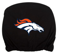 Embroidered Sports Logo 2 Pack Headrest Cover NFL, Denver Broncos