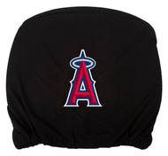 Embroidered Sports Logo 2 Pack Headrest Cover MLB, Los Angeles Angels