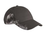 DRI Duck Grizzly Bear Wildlife Baseball Cap