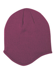 Acrylic Knit Helmet Beanie