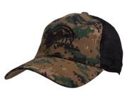 Gravity Outdoor Tactical Camouflage Adjustable Trucker Hat