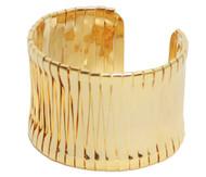 Womens Fashion Egyptian Cuff Bracelet - Gold