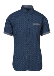 Gravity Threads Dotted Splash Dress Shirt