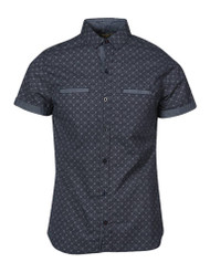 Gravity Threads Hibiscus Lining Dress Shirt