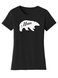 Gravity Trading Mama Bear Womens Short-Sleeve T-Shirt