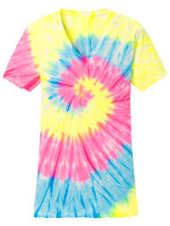 Gravity Threads Womens Tie-Dye V-Neck Shirt