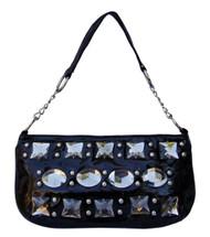 Small Bejeweled Hobo Handbag Purse