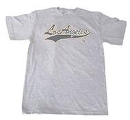 Los Angeles Team Cotton Shirt- Grey