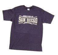 America's Finest City San Diego T-Shirt - Navy Blue, M