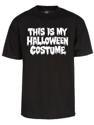 Mens This Is My Halloween Costume Short-Sleeve T-Shirt