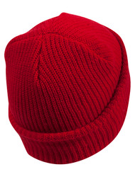 Long Beanie GI Watch Caps Stylish and Warm - Red