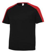 Gravity Threads Youth Sleeve-Blocked Moisture Wicking Shirt