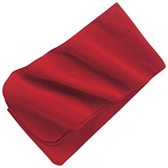 Port Authority Extra Long Fleece Scarf, Red