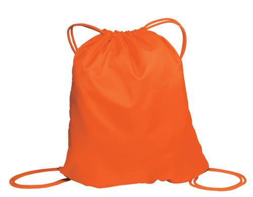 Basic DrawstrIng Backpack - Bright Orange BG85