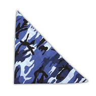 New Camoflauge Woodland Style Color Cotton Bandanas - (4 Different Styles)