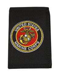 United States Marine Corps Logo Nylon  Wallet