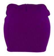 Knit Cap, Color: Athletic Prple, Size: One Size