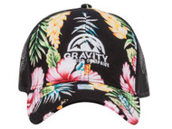 Gravity Outdoor Co. Hibiscus Adjustable Trucker Hat
