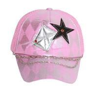 Clover Stars with Checkered Diamonds Trucker Hat