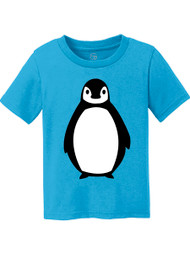 Fuzzy Penguin Kids Cotton T-Shirt