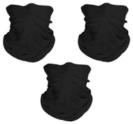 Top Headwear Face Covering Neck Gaiter - 3-Pack