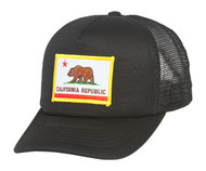 California Republic Patched Twill Mesh Cap