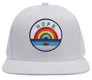 Top Headwear  Hope with Rainbow Patch Snapback Cap