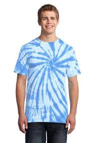 Port & Company Mens Essential Tie-Dye Tee