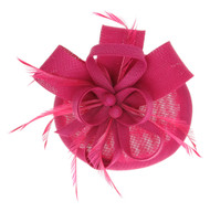 Chic Headwear Woven Loop Feathering Fascinator