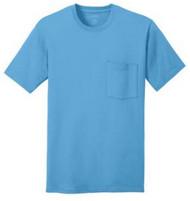 Port & Company 100% Cotton Pocket T-Shirt