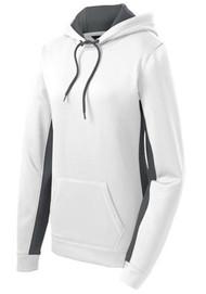 Women's Sport-Wick Fleece Colorblock Hooded Pullover