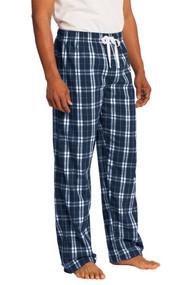 District Young Mens Flannel Plaid Pant