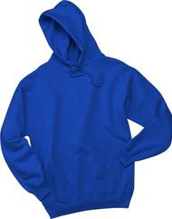 Jerzees 50/50 NuBlend Pullover Hoodie, TRUE ROYAL, small