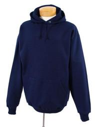 Jerzees 8 oz Hooded Sweatshirt (996M) Small Navy