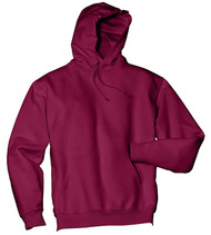 Jerzees Adult Double Lined Hooded Pullover, CardInal, Medium