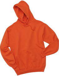 Jerzees Adult Double Lined Hooded Pullover, Burnt Orange, Large