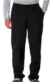 Jerzees 974MP 8 oz. 50/50 Open Bottom Fleece Pant
