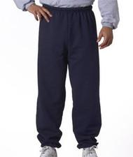 Jerzees Adult Mid-Weight Drawcord Sweatpant, J Navy, Medium