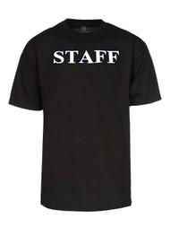 Staff Authority Cotton Shirt- Black