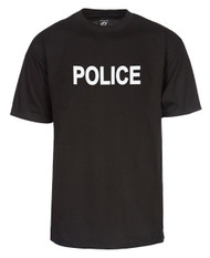 Police Law Enforcement Black T-Shirt