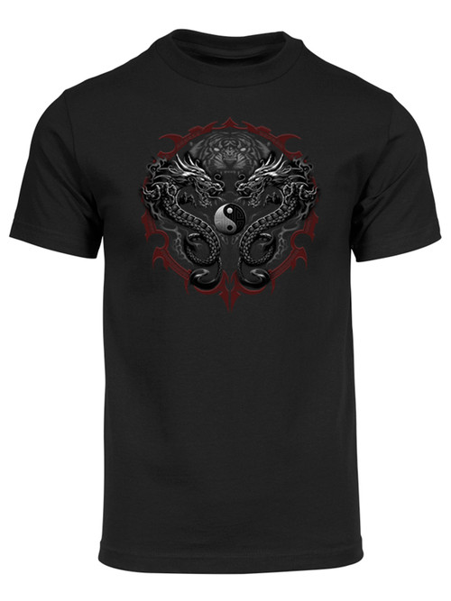 Men's Dragons and Tigers Short-Sleeve T-Shirt