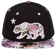 TopHeadwear California Republic Bear Snapback (Various Designs)