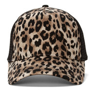 Animal Print Fashion Trucker Cap
