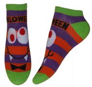 Corn Candy Vampire Monster Ankle Socks