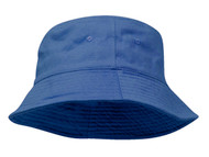 Youth Pigment Dyed Bucket Hat-Blue