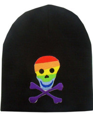 Clover Beanie Skull Logo Embedded