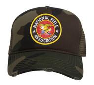 National Rifle Association NRA Adjustable Trucker Hat
