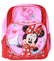 Disney Minnie Mouse Full Size School Backpack - Pink