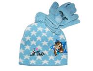 Youth/Kids Bratz Star Beanie - Light Blue